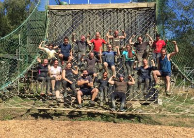 Assault Course Finish