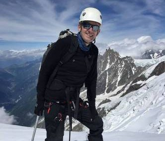 John Climbs Mont Blanc at 62 years young!